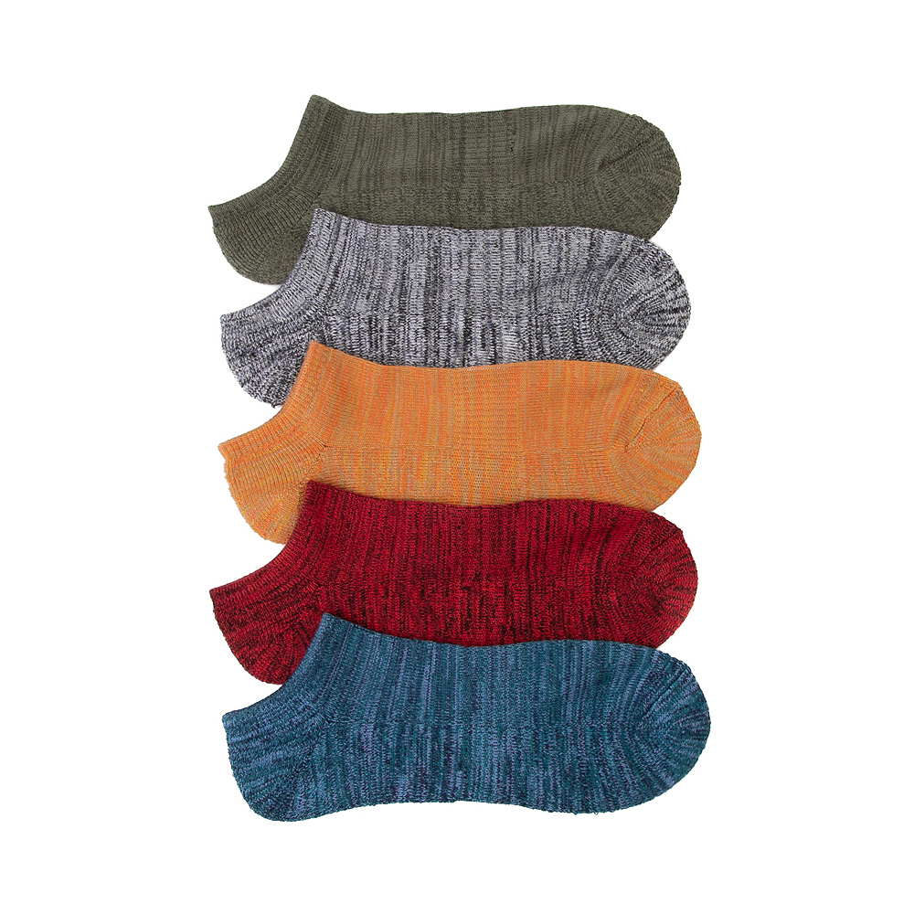 Mens Super Soft Low Cut Socks 5 Pack - Multi