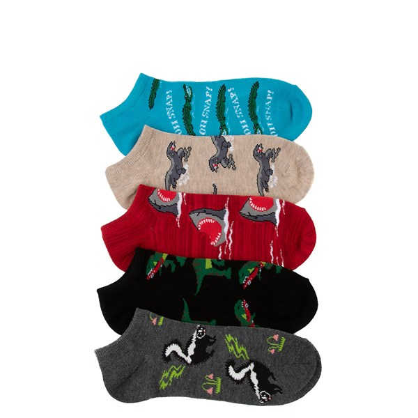 Mens Predators Low Cut Socks 5 Pack