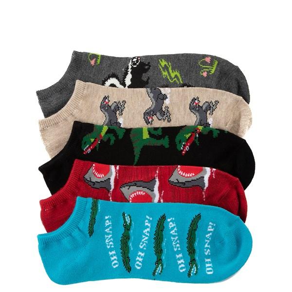 Mens Predators Low Cut Socks 5 Pack