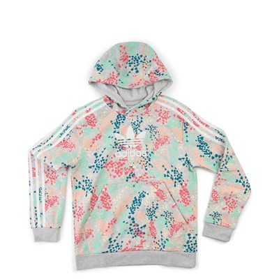 Main view of adidas Trefoil Flower Hoodie - Girls Little Kid