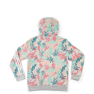 Alternate view of adidas Trefoil Flower Hoodie - Girls Little Kid