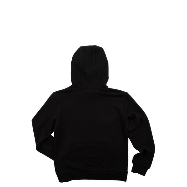 alternate view adidas Trefoil Hoodie - Little Kid / Big Kid - BlackALT1
