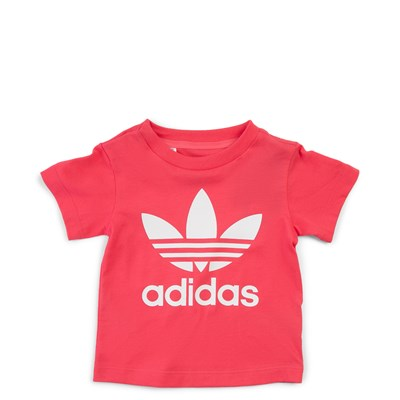 Main view of adidas Trefoil Tee - Girls Baby