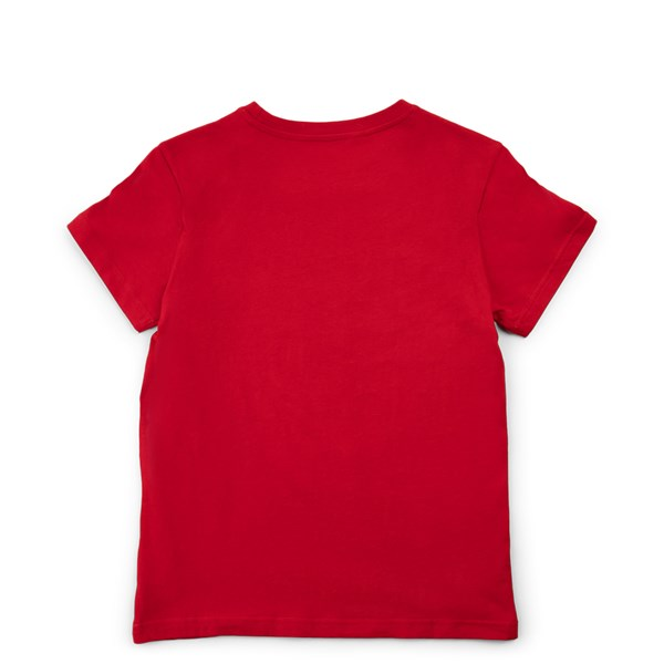alternate view adidas Trefoil Tee - Little Kid / Big Kid - RedALT1
