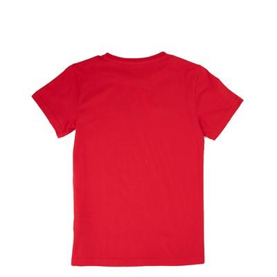 Alternate view of adidas Trefoil Tee - Little Kid / Big Kid - Red
