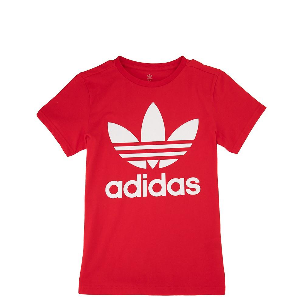 adidas Trefoil Tee - Little Kid / Big Kid - Red