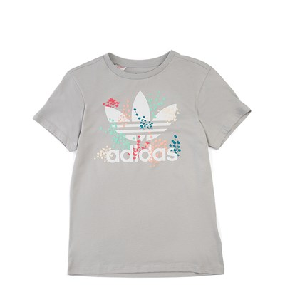 Main view of adidas Trefoil Flower Tee - Girls Little Kid
