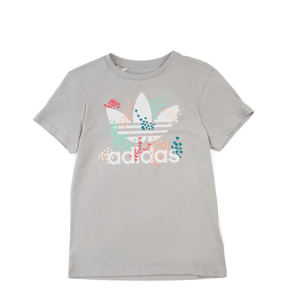 adidas Trefoil Flower Tee - Girls Little Kid