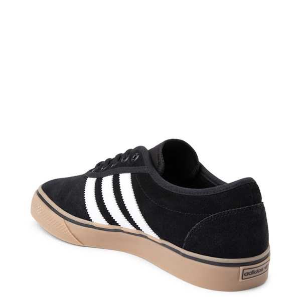 alternate view Mens adidas Adi-Ease Skate Shoe - Black / White / GumALT2