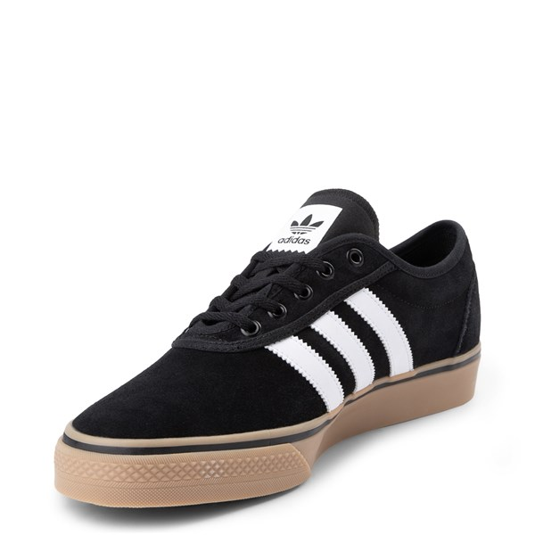 alternate view Mens adidas Adi-Ease Skate Shoe - Black / White / GumALT3