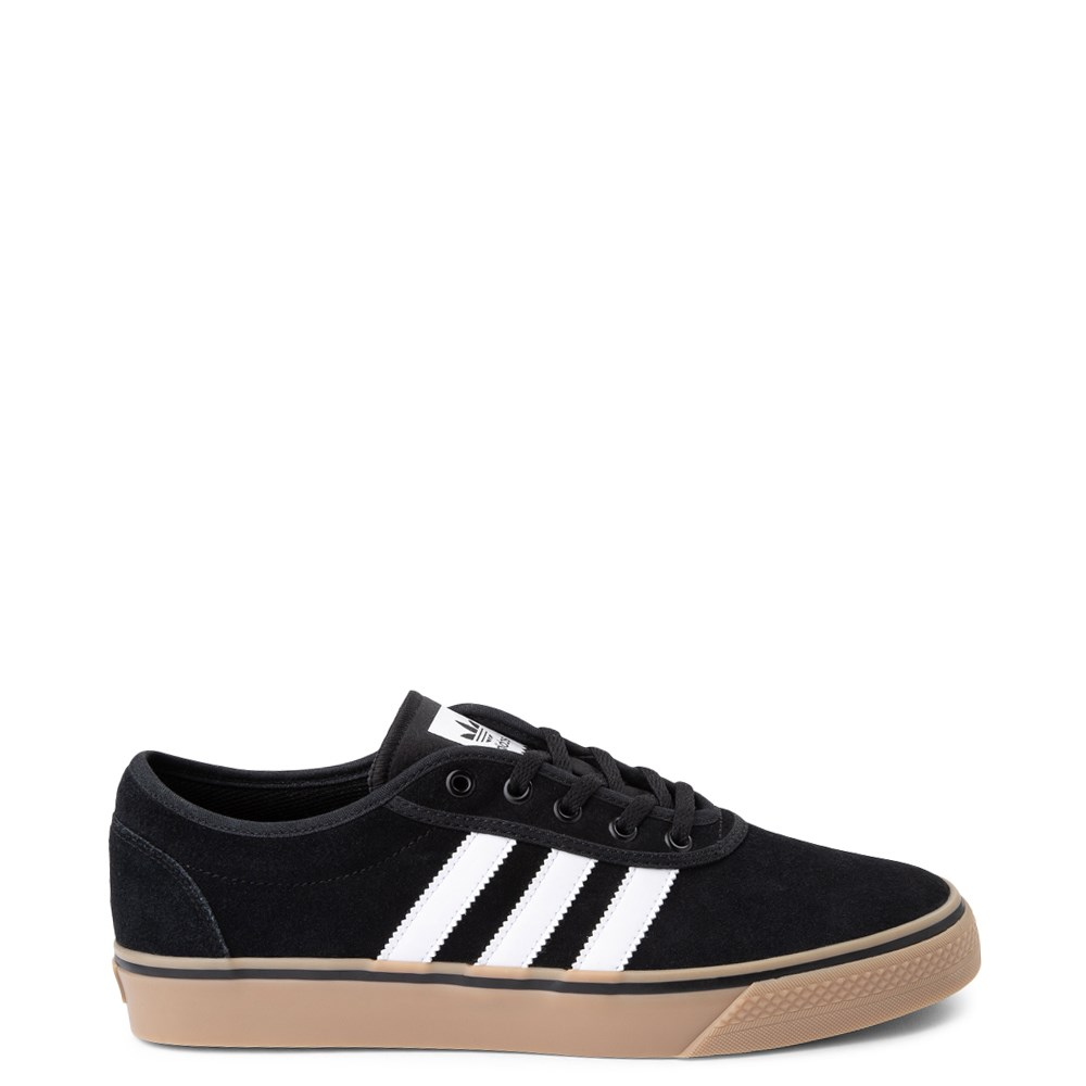 Mens adidas Adi-Ease Skate Shoe - Black / White / Gum