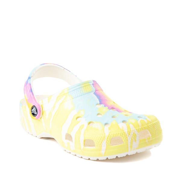 alternate view Crocs Classic Clog - Pastel Tie DyeALT5