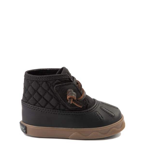 Sperry Top-Sider Icestorm Quilted Nylon Boot - Baby - Black