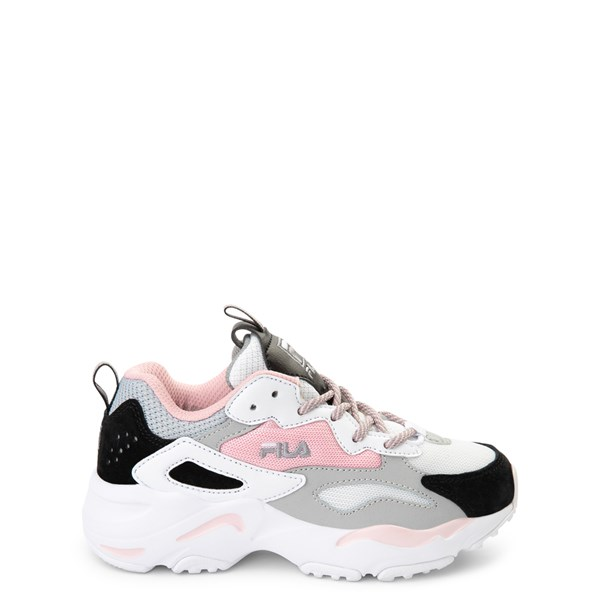 Fila Ray Tracer Athletic Shoe - Little Kid - Pink / White / Gray