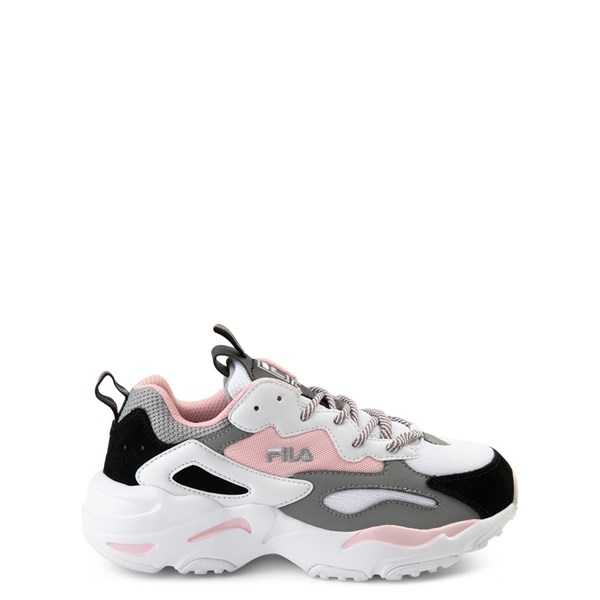 Fila Ray Tracer Athletic Shoe - Big Kid - Pink / White / Gray