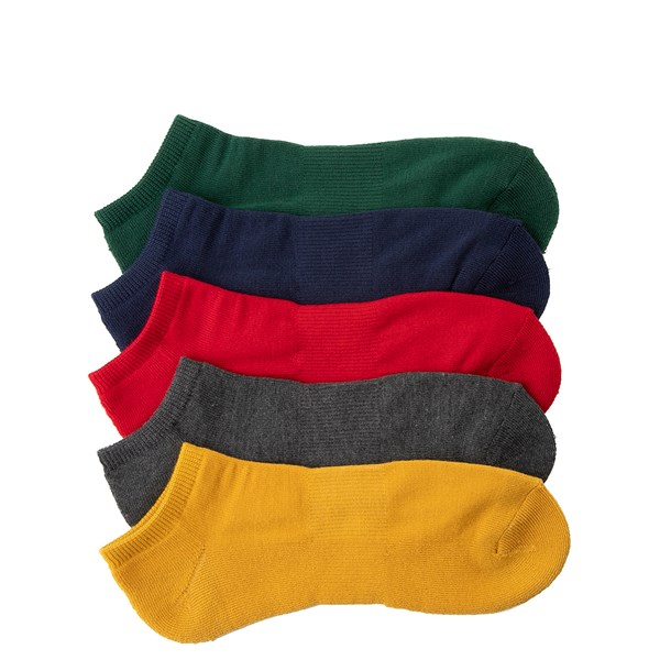 Mens Low Cut Socks 5 Pack - Multi