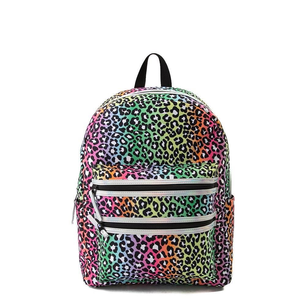 Iridescent Cheetah Backpack