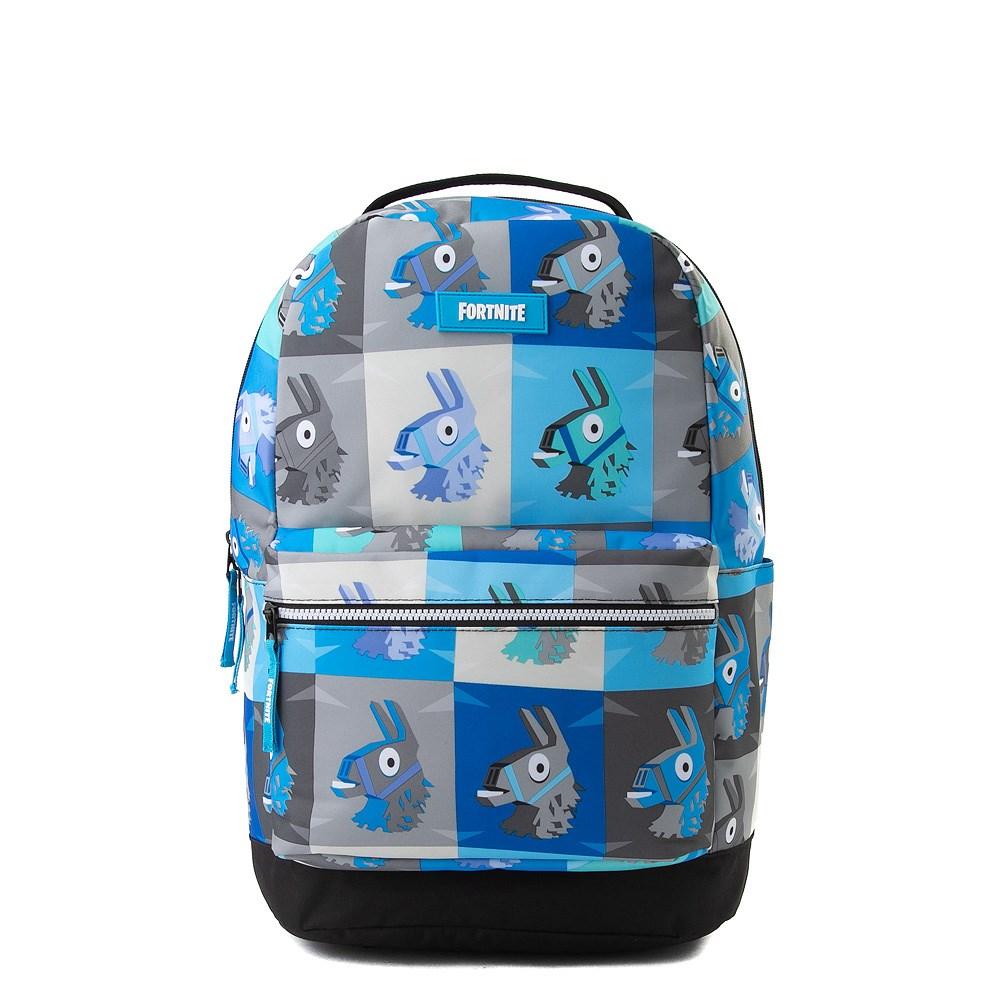 Fortnite Llama Backpack - Blue / Gray