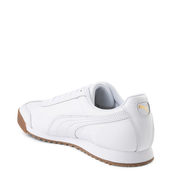 alternate view Mens Puma Roma Classic Athletic Shoe - WhiteALT2