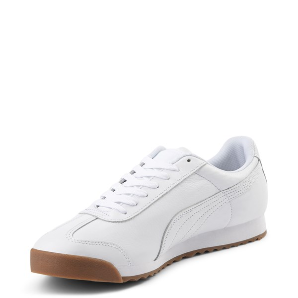 alternate view Mens Puma Roma Classic Athletic Shoe - WhiteALT3