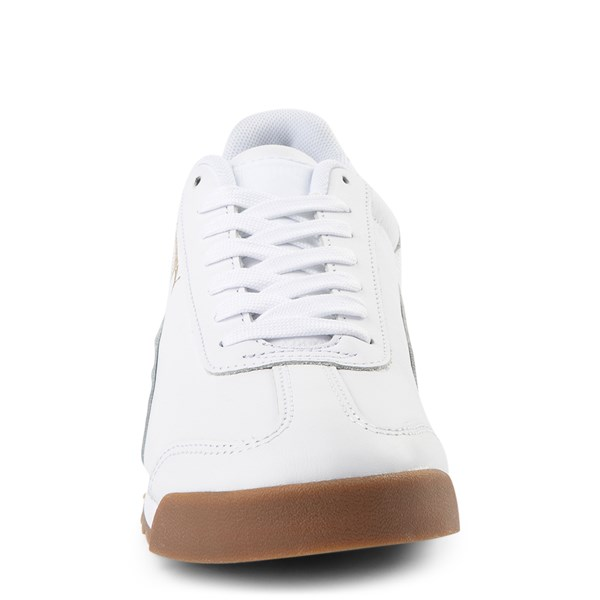 alternate view Mens Puma Roma Classic Athletic Shoe - WhiteALT4