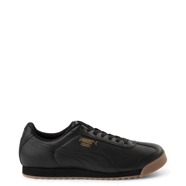 Mens Puma Roma Classic Athletic Shoe - Black / Gum