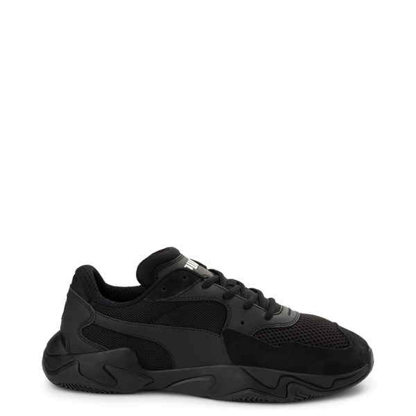 Mens Puma Storm Origin Athletic Shoe - Black Monochrome