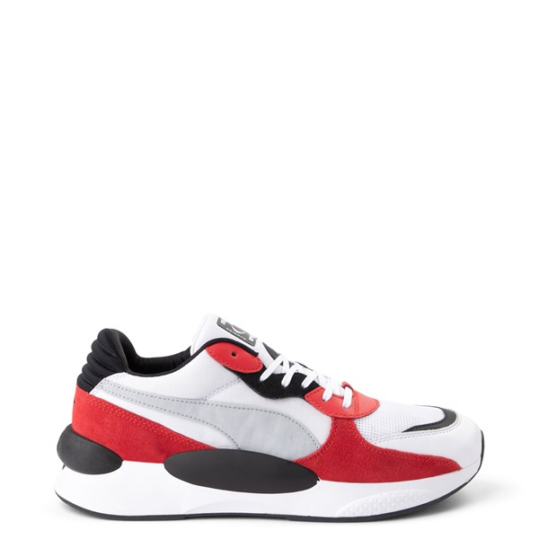 Mens Puma RS 9.8 Space Athletic Shoe - White / Red / Black