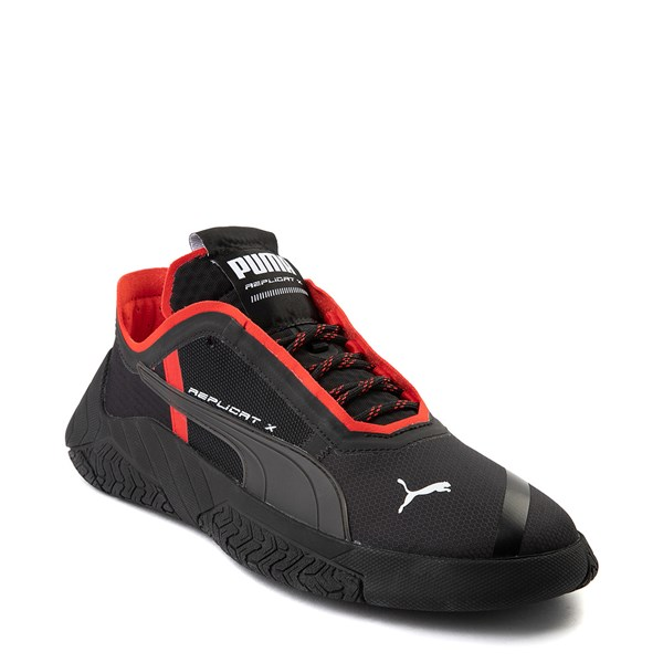 Alternate view of Mens Puma Replicat-X Athletic Shoe - Black / Red