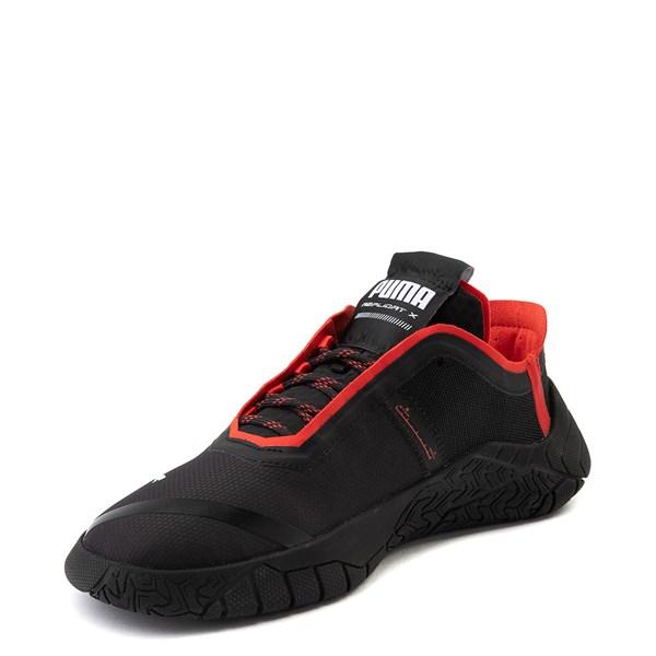 alternate view Mens Puma Replicat-X Athletic Shoe - Black / RedALT3