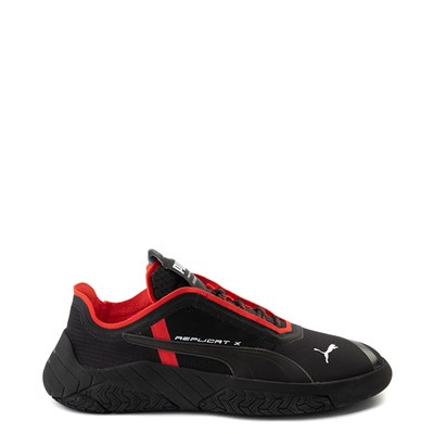 Main view of Mens Puma Replicat-X Athletic Shoe - Black / Red