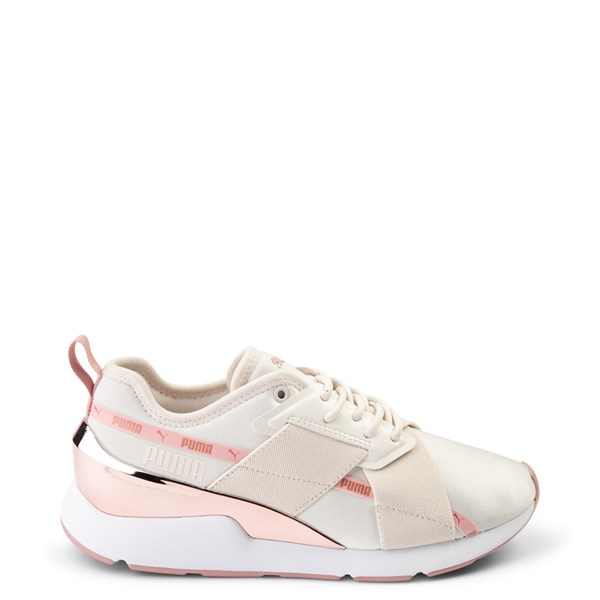 Womens Puma Muse X-2 Athletic Shoe - Parchment / Rose Gold