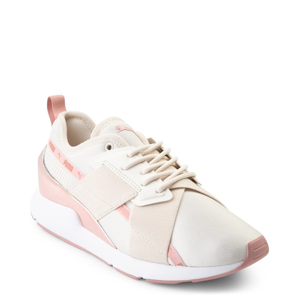 alternate view Womens Puma Muse X-2 Athletic Shoe - Parchment / Rose GoldALT1