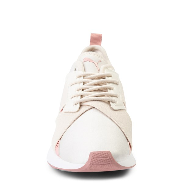 alternate view Womens Puma Muse X-2 Athletic Shoe - Parchment / Rose GoldALT4