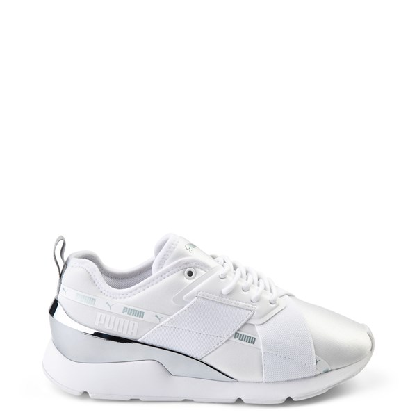 Womens Puma Muse X-2 Athletic Shoe - White / Silver