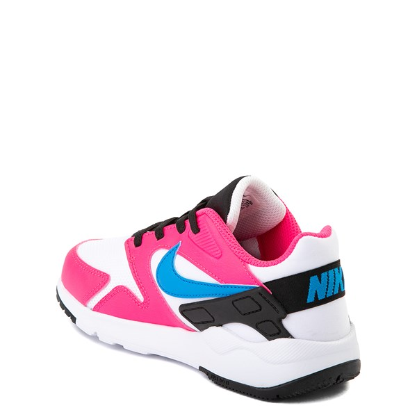 alternate view Nike LD Victory Athletic Shoe - Little Kid - White / Pink / BlueALT2