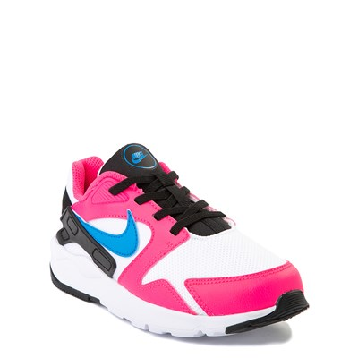 Alternate view of Nike LD Victory Athletic Shoe - Little Kid - White / Pink / Blue