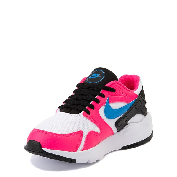alternate view Nike LD Victory Athletic Shoe - Big Kid - White / Pink / BlueALT3