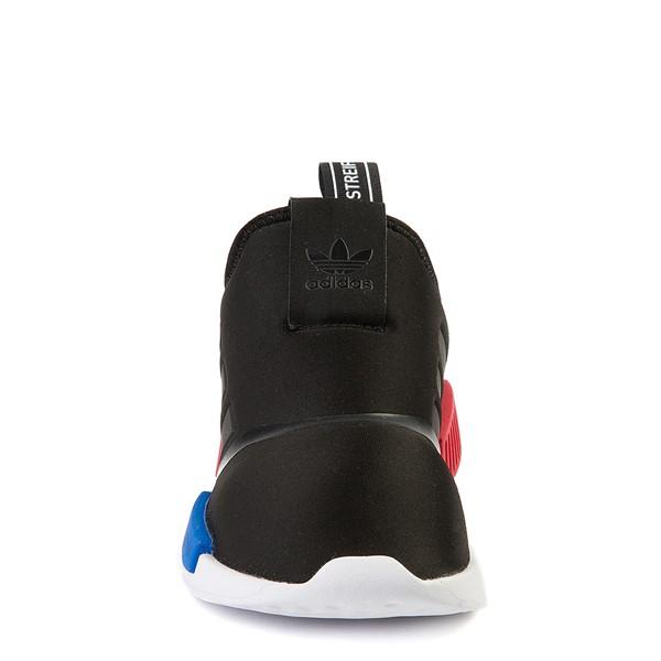 alternate view adidas NMD 360 Slip On Athletic Shoe - Little Kid - Core Black / Red / BlueALT4