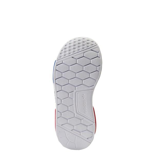 alternate view adidas NMD 360 Slip On Athletic Shoe - Little Kid - Core Black / Red / BlueALT5