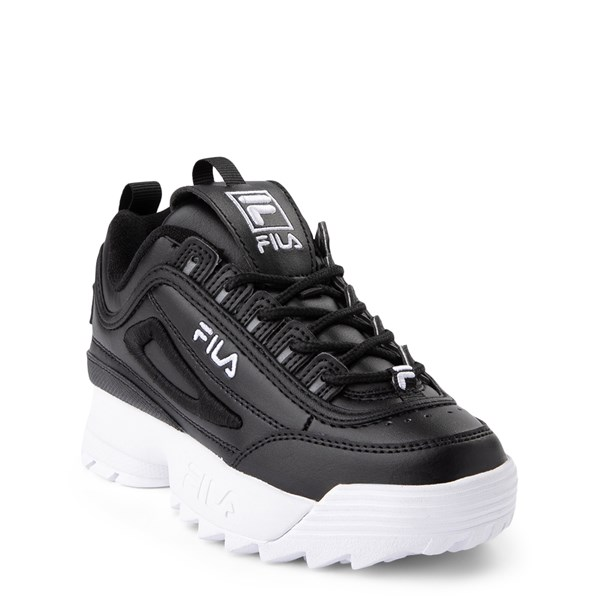 alternate view Fila Disruptor 2 Athletic Shoe - Little Kid - BlackALT1