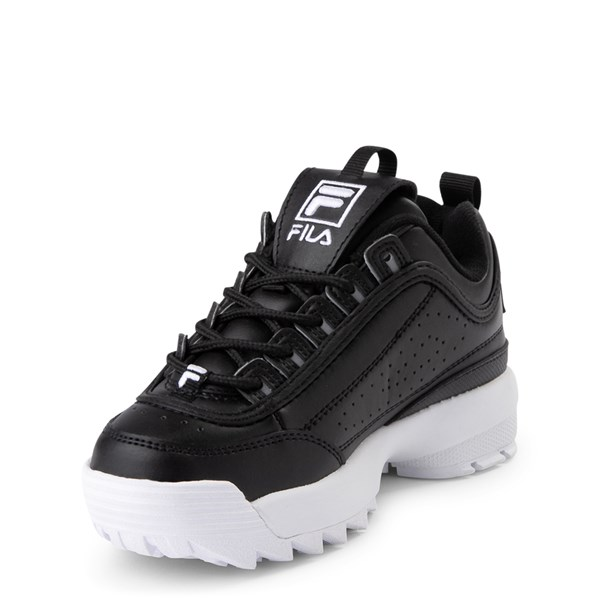 alternate view Fila Disruptor 2 Athletic Shoe - Little Kid - BlackALT3