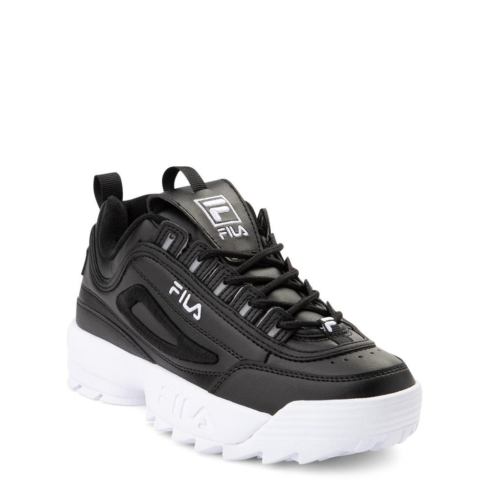 Fila Disruptor 2 Athletic Shoe Big Kid Black