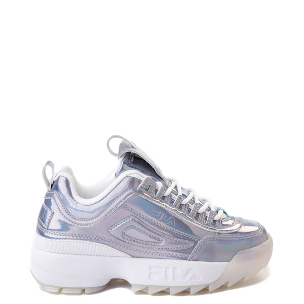 Fila Disruptor 2 Athletic Shoe - Big Kid - Silver