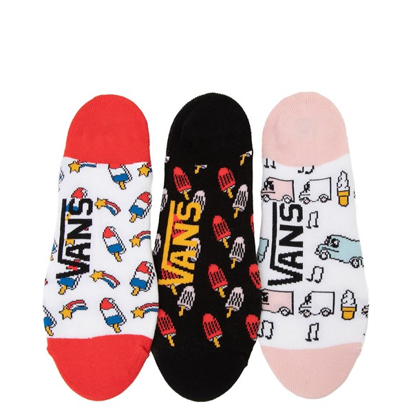 alternate view Womens Vans Ice Cream Canoodle Liners 3 Pack - MultiALT1