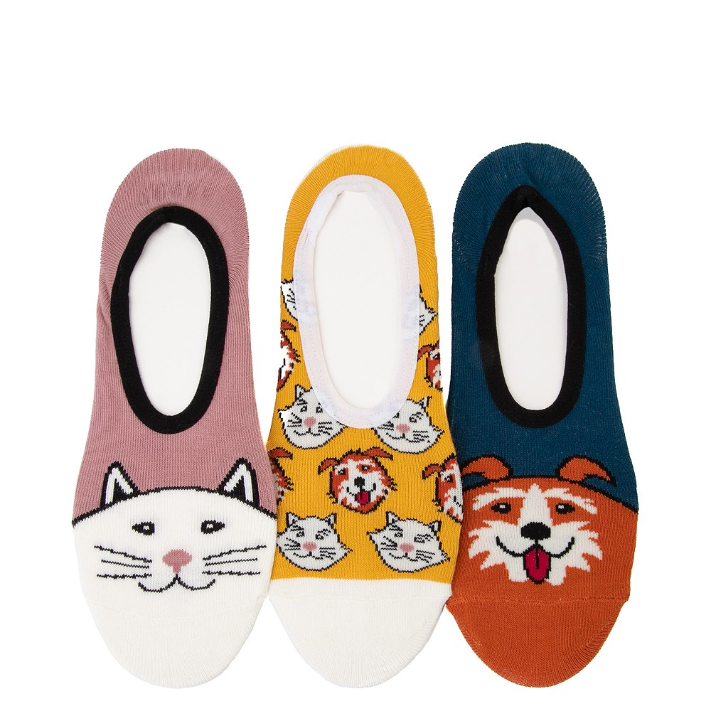 Womens Vans Best Buds Canoodle Liners 3 Pack - Multi