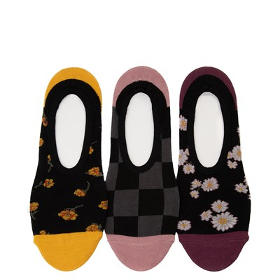 Main view of Womens Vans Floral Frenzy Canoodle Liners 3 Pack - Multi