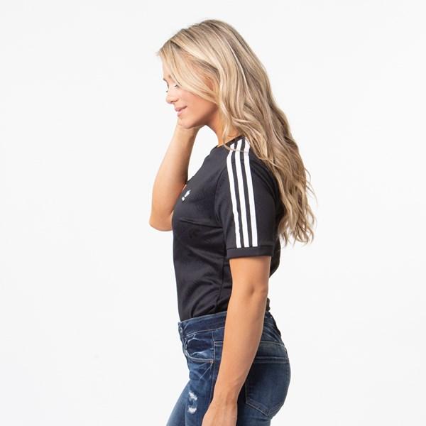 alternate view Womens adidas 3-Stripes BodysuitALT2