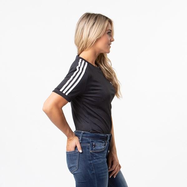 alternate view Womens adidas 3-Stripes BodysuitALT3