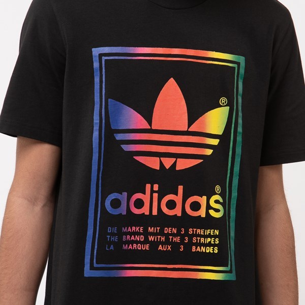 alternate view Mens adidas Vintage Box Logo TeeALT4